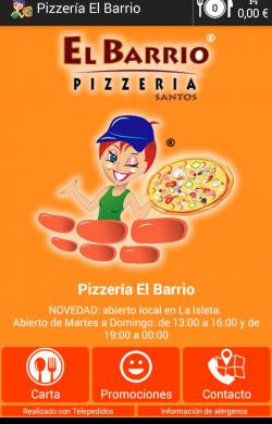 pizzería el barrio